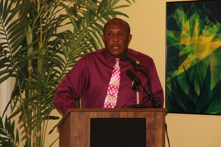 Assistant Secretary in the Ministry of Tourism on Nevis Mr. Carl Williams