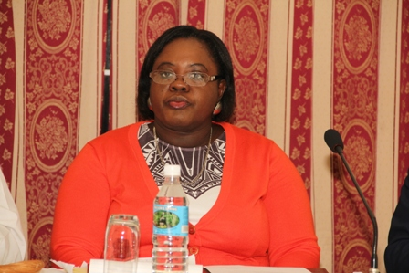 Junior minister responsible for Gender Affairs on Nevis Hon. Hazel Brandy-Williams