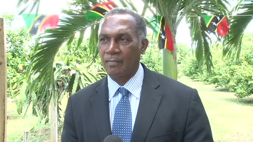 Premier of Nevis Hon. Vance Amory in an interview with the Department of Information on the passing of South Africa's first black President Nelson Mandela