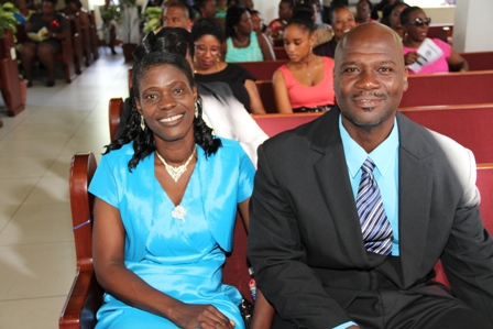 Patrons for the Gingerland Secondary Schools' 2013 Graduation CeremonyMr. and Mrs. Samuel and Lornette Webbe