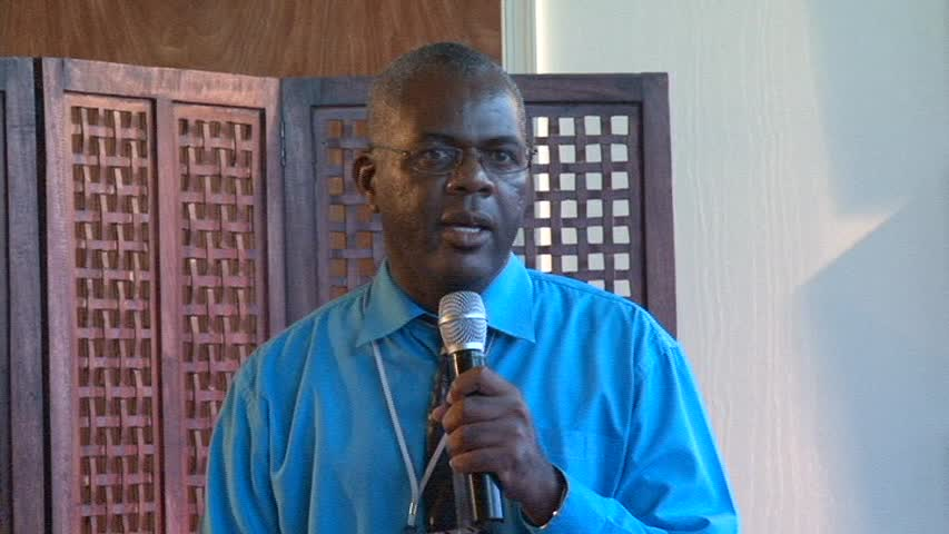 General Manager of the Nevis Air and Sea Ports Authority Mr. Oral Brandy