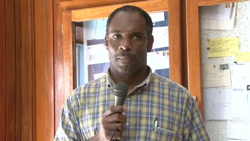 Treasurer in the Nevis Island Administration Mr. Colin Dore