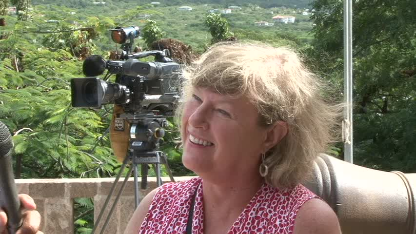 Producer of Boston's acclaimed Chronicle programme Maggie Harper