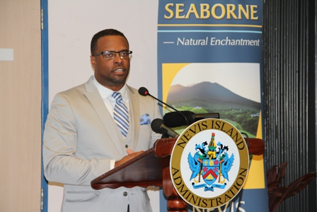 Deputy Premier of Nevis and Minister of Tourism Hon. Mark Brantley