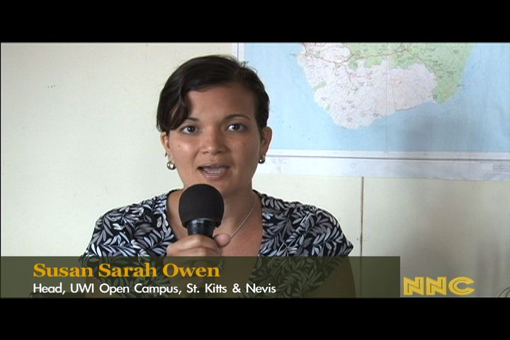 Head of the University of the West Indies Open Campus in St. Kitts and Nevis Ms. Susan Sarah Owen