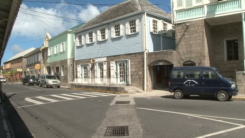 The Post Office on the Island Main Road in Charlestown, the temporary home for cashiers of the Inland Revenue from Wednesday January 22, 2014