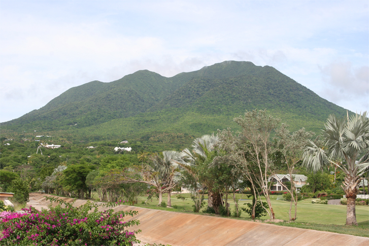 Some of Nevis' exquisite flora and fauna: a view of the island's pristine environment from the Four Seasons Resort