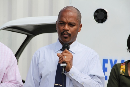 Administrator of Nevis' Alexandra Hospital Gary Pemberton