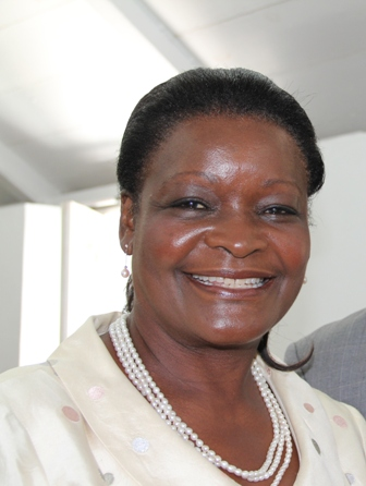 Vice President of the Nevis Women's Council Vernie Amory (file photo)