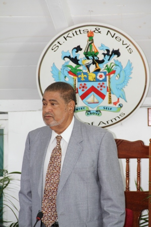 Deputy Governor General His Honour Mr. Eustace John, C.M.G.