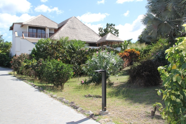 One of the villas to be refurbished at the Paradise Beach Nevis Ltd.