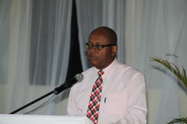 Laurie Lawrence, Permanent Secretary in the Ministry of Finance, Nevis Island Administration