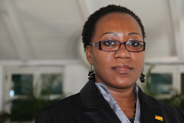 Clerk of the Nevis Island Assembly Shemica Maloney (file photo)