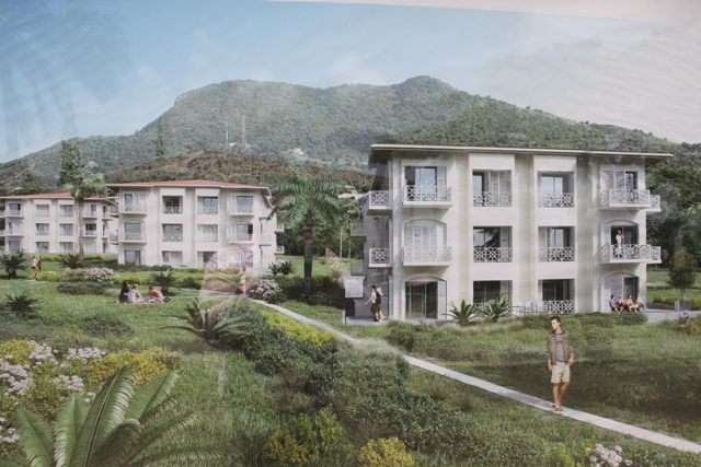 An artist's impression of the expansion project for Mount Nevis Hotel at Newcastle