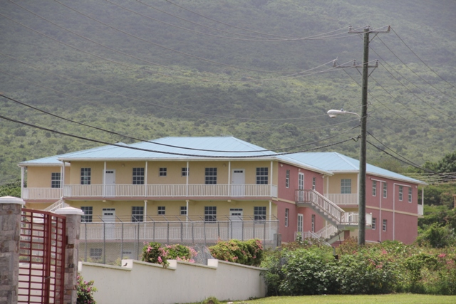 The new but temporary home of the Ministry of Education and the Department of Education on Nevis at the Pinney's Industrial Site (file photo)