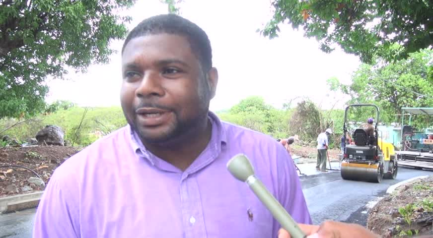 Minister of Communications and Works on Nevis Hon. Troy Liburd
