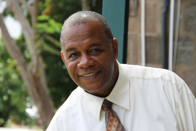 Permanent Secretary in the Ministry of Agriculture on Nevis Eric Evelyn