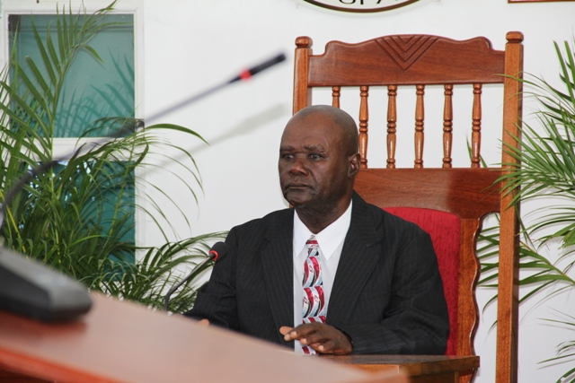 President of the Nevis Island Assembly Hon. Farrell Smithen (file photo)
