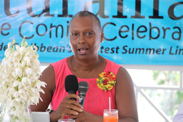 Chairperson of Culturama 2014 Deborah Tyrell