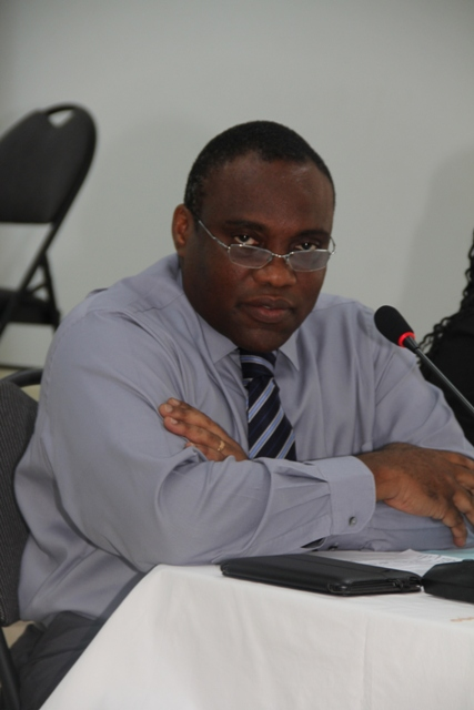 Acting Medical Chief of Staff at the Alexandra Hospital Dr. John Essien (file photo)