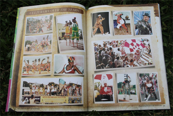 A pictorial of the years past featured inside The Cadre Beat, the Culturama 40 commemorative magazine