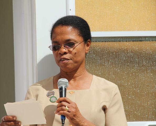 Supervisor of Community Health and Nursing Services Nurse Jenevie Daniel (file photo)