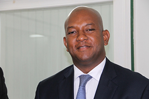 New resident Organisation of American States (OAS) Representative to St. Kitts and Nevis His Excellency Terence Raymond Craig at Bath Plain, during his first visit to Nevis on August 21, 2014