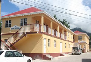 Nevis Island Administration's Ministry of Finance office in Charlestown (file photo)
