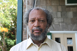 Director of the Nevis Disaster Management Department Lester Blackett