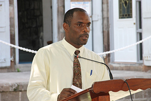 Permanent Secretary in the Ministry of Finance on Nevis Collin Dore