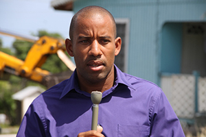 Manager of the Nevis Water Department Roger Hanley (file photo)