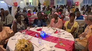 Seniors at the Gala and Awards Ceremony hosted by the Seniors Division in the Department of Social Development at the Occasions Conference Centre on October 23, 2014