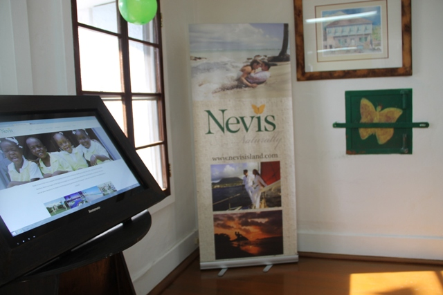 The Nevis Tourism Authority Visitor Centre at the Arthur Evelyn Building, Charlestown.