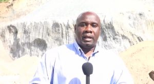 Minister of Communications Works and Natural Resources on Nevis Hon. Alexis Jeffers