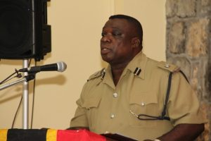 Divisional Commander of the Royal St. Christopher and Nevis Police Force Nevis Division Superintendent Hilroy Brandy