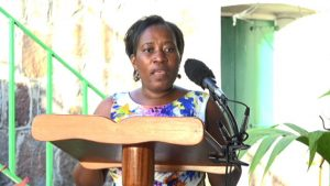 Director of Community Development on Nevis Janette Nisbett-Meloney