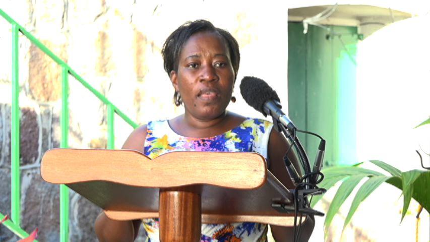 Director of Community Development on Nevis Janette Nisbett-Meloney