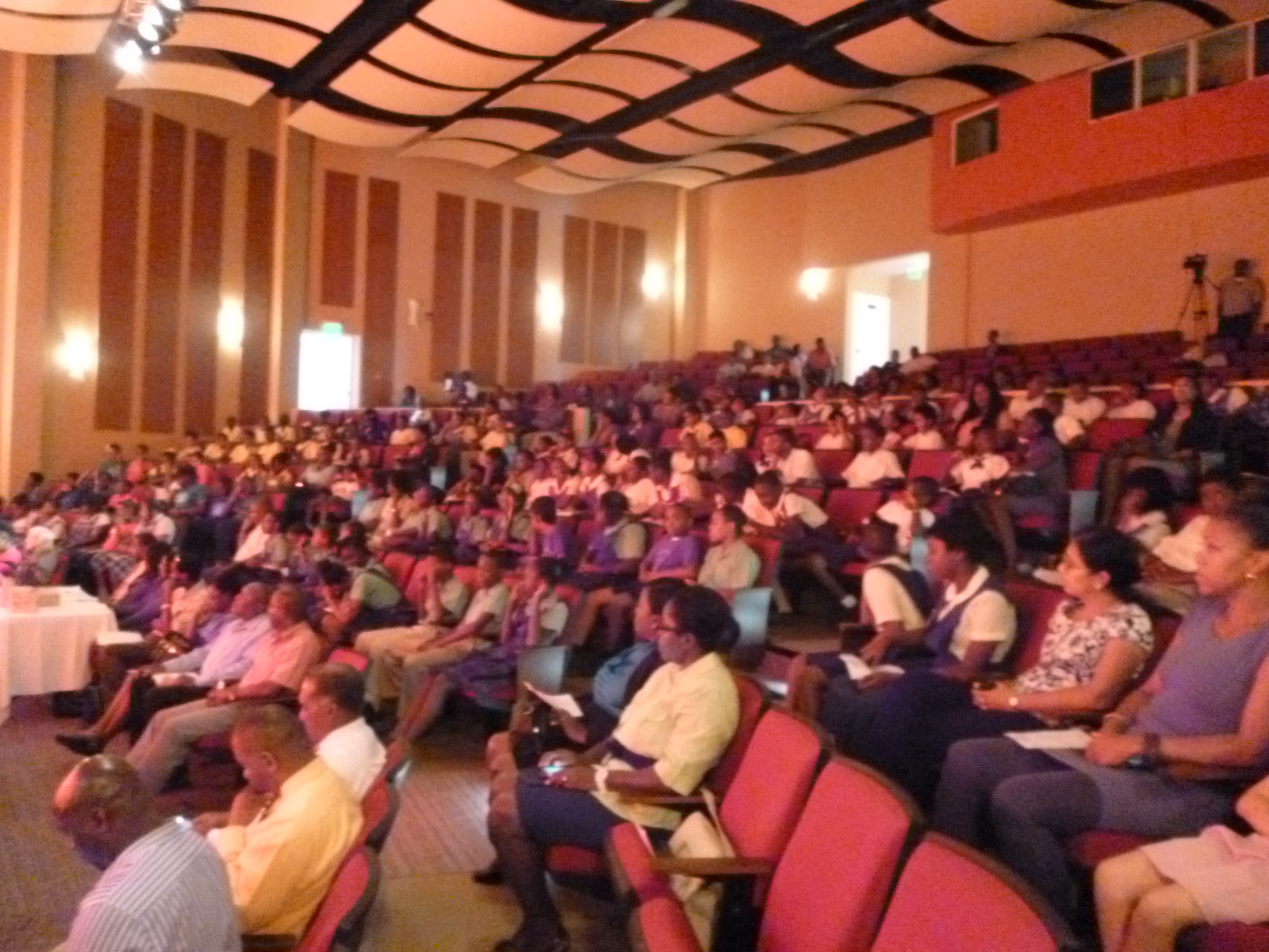 A cross section of audience at NEPAC.