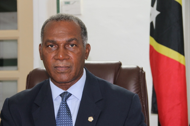 Minister of Nevis Affairs Hon. Vance Amory