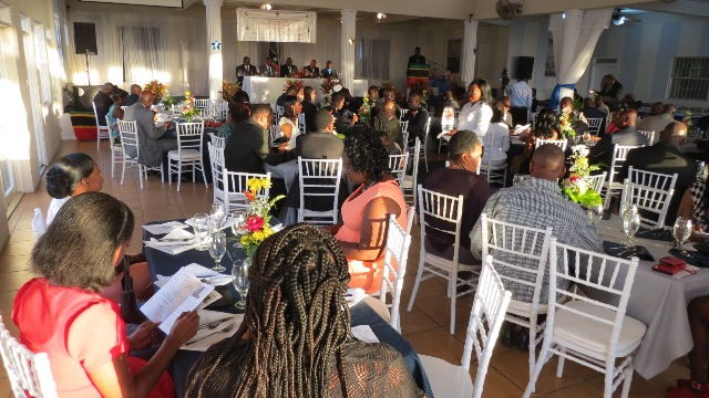 Attendees at the 12th Annual Constables Award Ceremony and Dinner on February 28, 2015 at the Occasions Entertainment Arcade.