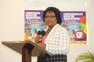 Zahnela Claxton, Principal Education Officer in the Department of Education, in the Nevis Island Administration