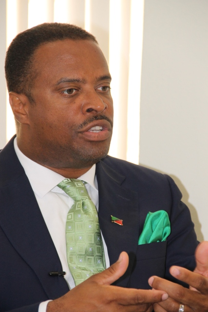 Deputy Premier of Nevis and Federal Minister Hon. Mark Brantley