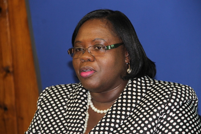 Minister of Youth and Sports on Nevis Hon. Hazel Brandy-Williams