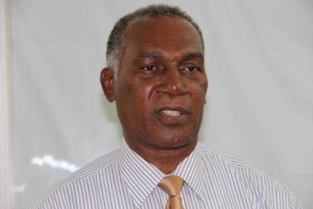 of Nevis and Federal Minister of Nevis Affairs Hon. Vance Amory