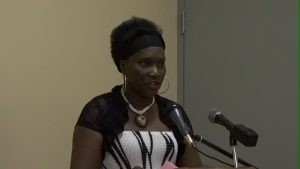 Gender and Social Affairs Officer Shelly Liburd