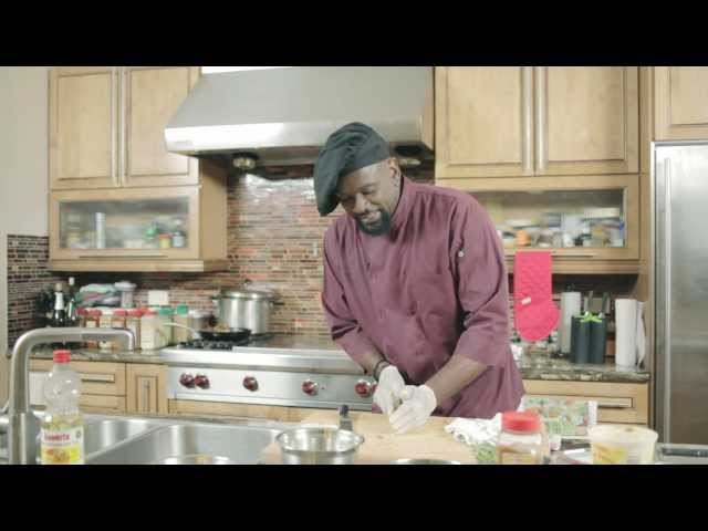 Chef Gregory on The Caribbean Cooking Channel's Five Minute Meals, a television show aired on CNCTV