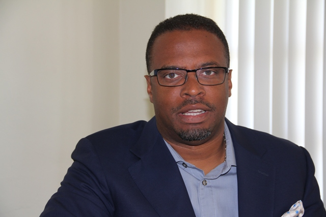 Photo caption: Deputy Premier of Nevis and Minister of Tourism Hon. Mark Brantley (file photo)