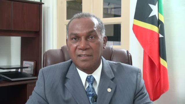 Premier of Nevis and Minister of Education Hon. Vance Amory