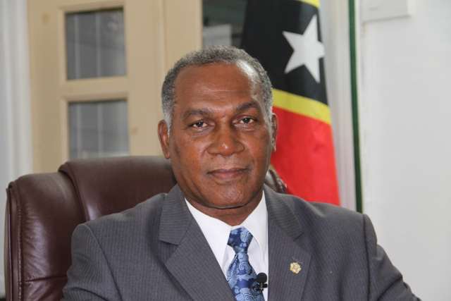Premier of Nevis and Minister responsible for Disaster Management in the Nevis Island Administration Hon. Vance Amory