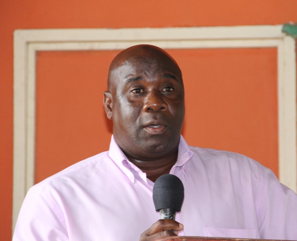 Minister in the Nevis Island Administration Hon. Alexis Jeffers (file photo)